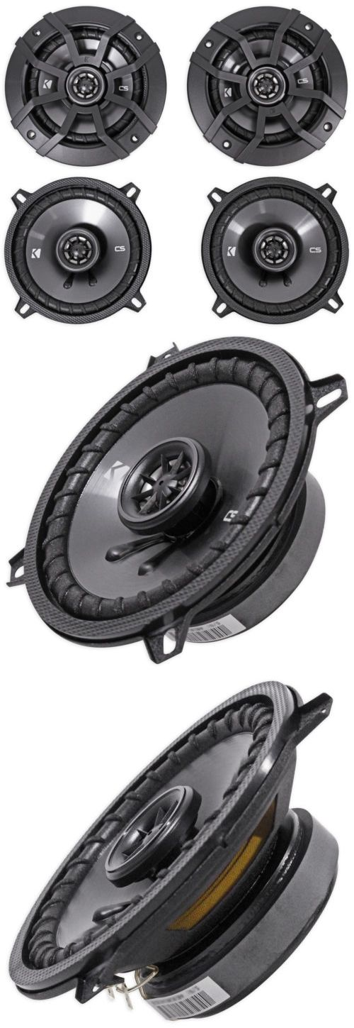 Car Speakers and Speaker Systems: Pair Kicker 43Csc54 5.25 450 Watt 4-Ohm 2-Way Car Audio Coaxial Speakers Csc54 BUY IT NOW ONLY: $59.95
