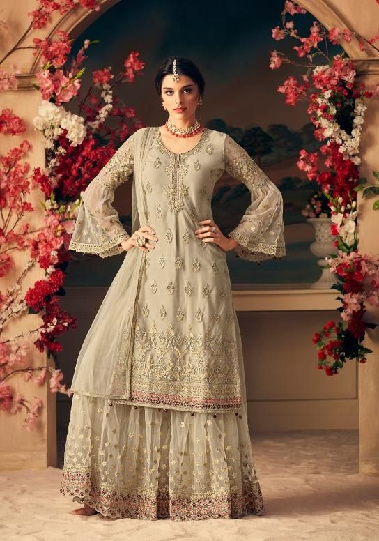 345f499fec Mohini Fashion Glamour Designer Sharara Style Salwar Suit in 2019 ...