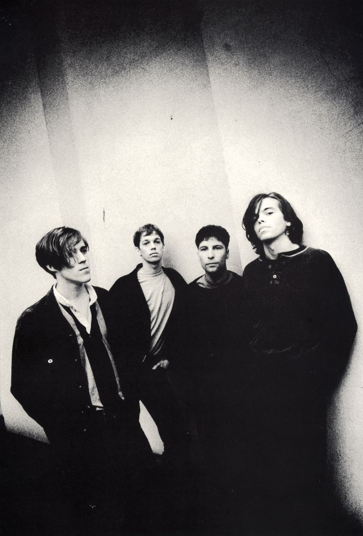 RIDE / BAND PROMO SHOT B&W 2