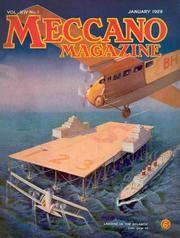 Revista vintage- January 1929 VOL XIV- No 1