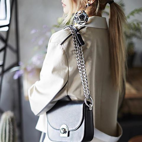 Luxe B Aso purse