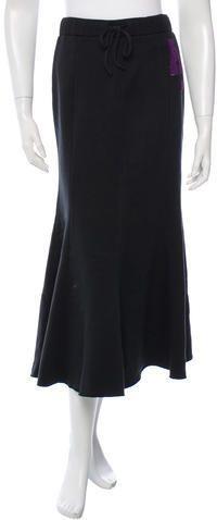 Anna Sui Paneled Midi Skirt w/ Tags