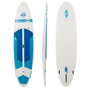 Bic Stand Up Paddle Boards - Bic Performer Tough Stand Up Paddle Board - White/ Blue