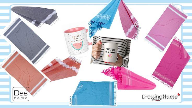 Πετσέτες θαλάσσης από την Das σε μεγάλη ποικιλία σχεδίων και χρωμάτων!! 👌🐚🍉🏖️🌞