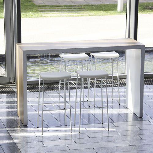 High bar table / contemporary / laminate / linoleum MEETING  Magnus Olesen