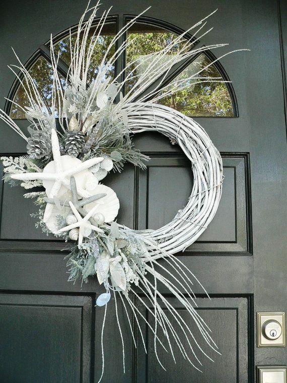 1000 Ideas About White Wreath On Pinterest Wreaths