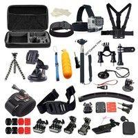 Wish | 30-in-1 GoPro Hero2 3 3+4  Head Strap Chest Mount Pole Camera Accessories Set Kit