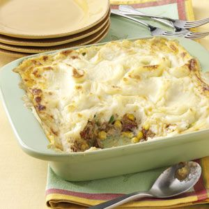 Next Day Meat Loaf Pie - changed a few things but still good.