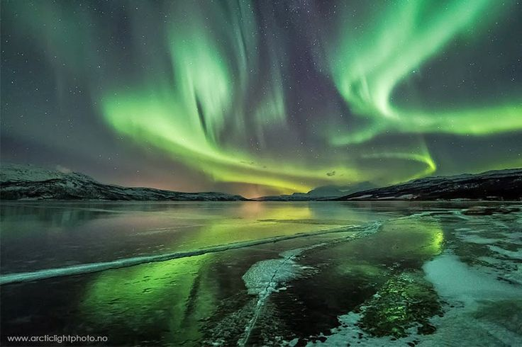TerezaInOslo: Jak se večeřelo ve srubu a žhavé téma polární záře v Norsku