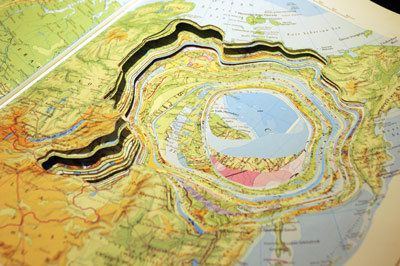 MAYA LIN'S Atlas Landscape: The University Atlas, 1984 and 2006