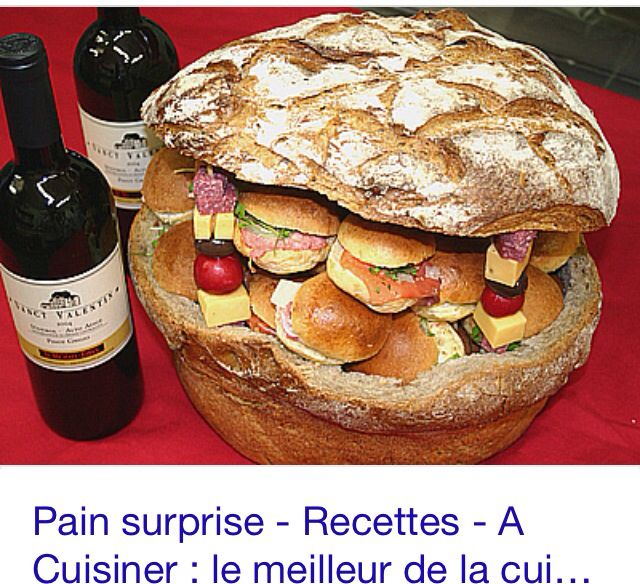 Connu 11 best cuisine pain surprise images on Pinterest | Sandwiches  XJ35