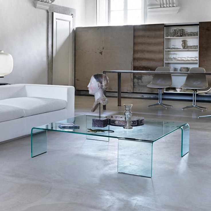Neutra Glass Coffee Table