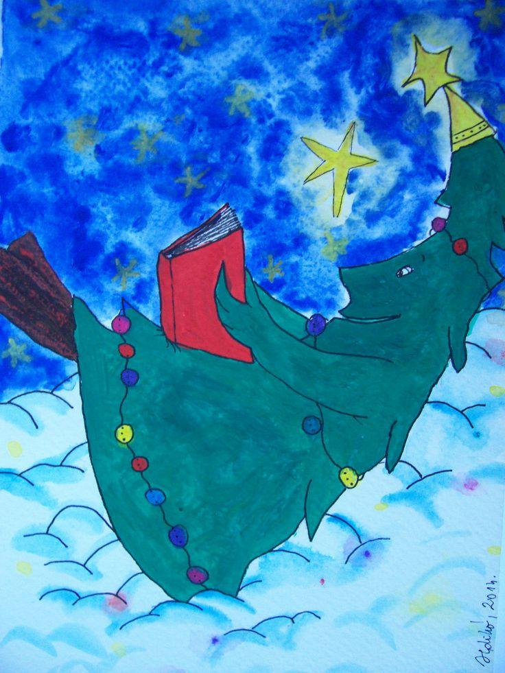 Ildikó Vitkolczi's christmas tree