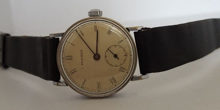 For sale very rare Watch Pharos manual wind, wrist watch. Movement is manual wind. Watch in working condition from the 1940s(I think). This watch measures 32 mm not including crown. Inside the back cover writes (stowa boden rostfreien Stahl). | eBay!