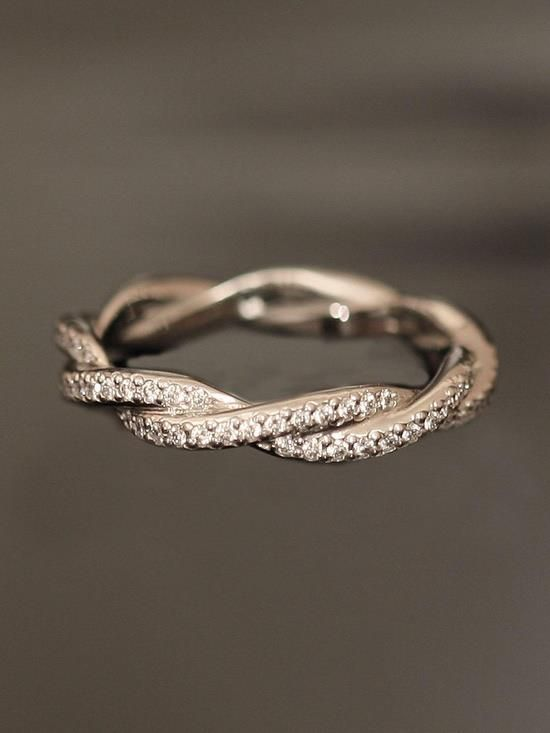 Twisted wedding ring. I would like it better with 3 strands.