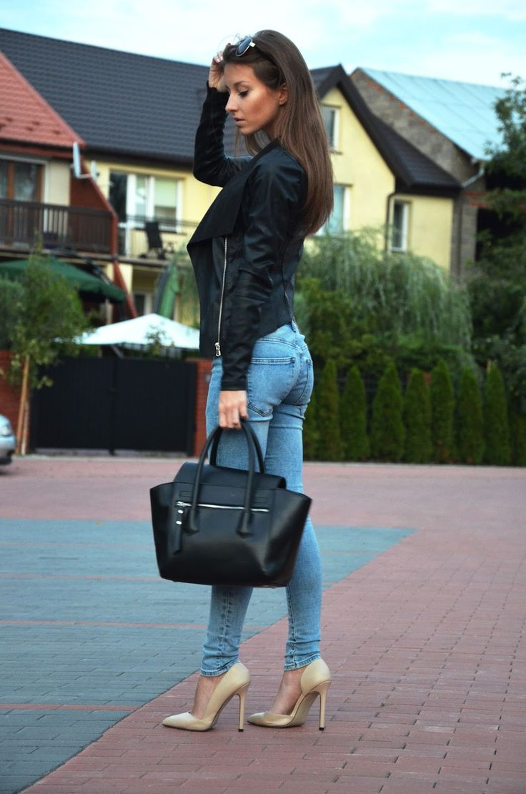 280 best images about Skinny Jeans and Slim Pants Style on Pinterest | Pump White skinnies and ...