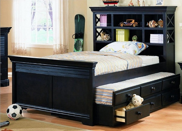 kleine slaapkamer opslag ideeën