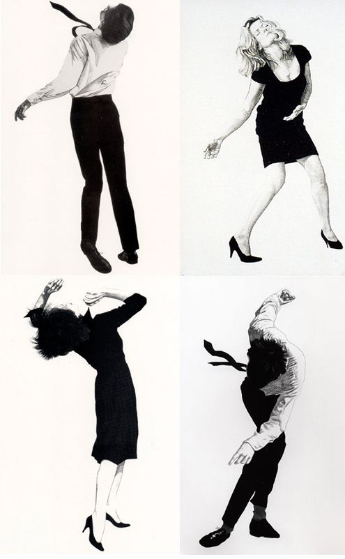 • MEN IN THE CITIES, serie 1979 • by ROBERT LONGO (born in 1953) • wow! remember Longo! Wish i had one now!
