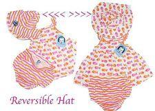GERBER 3pc.Baby Shirt, Panties & Hat  Adorable * NWT * Orange White & Pink
