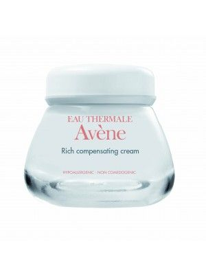 Avène Rich Compensating Cream prevents moisture loss and provides antioxidant protection. This ultra rich, non-greasy moisturizer provides ceramides, plant sterols and fatty acids to help restore skin's barrier and revitalize dull skin.