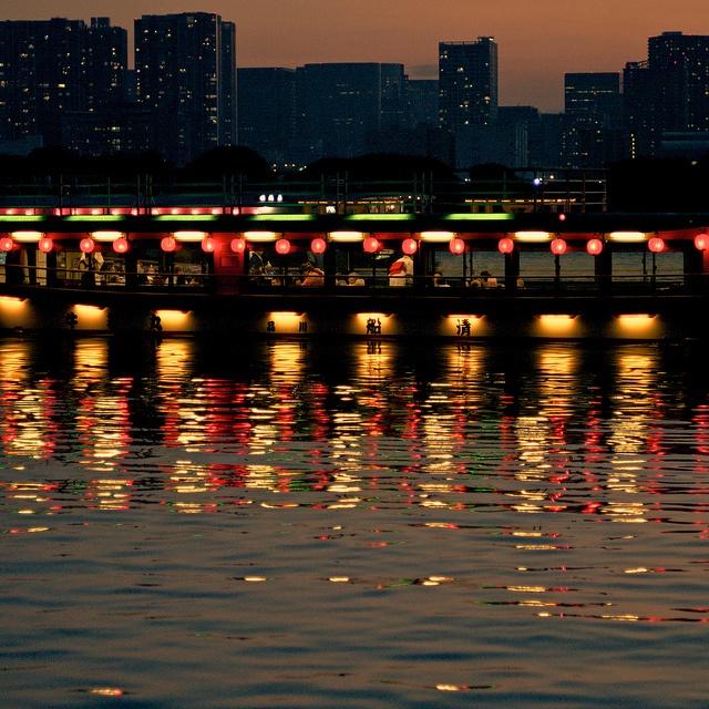 Dinner Cruise / 屋形船 by u_ran2008, via Flickr