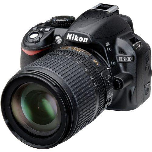 Nikon D3100 + 18-105mm f/3.5-5.6G ED-IF AF-S VR DX Zoom-NIKKOR - Cámara Digital Compacta 14.2 MP B0040AJ9TE - http://www.comprartabletas.es/nikon-d3100-18-105mm-f3-5-5-6g-ed-if-af-s-vr-dx-zoom-nikkor-camara-digital-compacta-14-2-mp-b0040aj9te.html