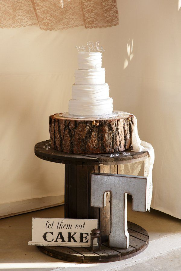 199 Best Rustic Cupcake Amp Cake Stands Images On Pinterest