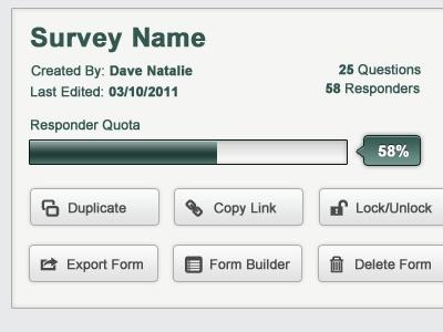 7 best Survey UI Elements images on Pinterest Ui elements - demographic survey template