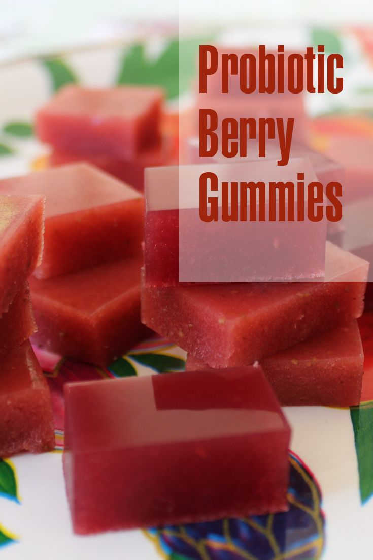 Probiotic berry gummies for loving little tummies