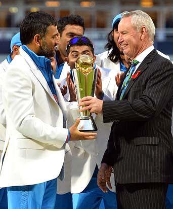 Mahendra Singh Dhoni speaks on his big win!