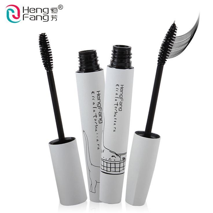 2 Styls Lengthening Mascara Black Waterproof Thick Zoo Series Eye Makeup Brand HengFang #H6162-H6163