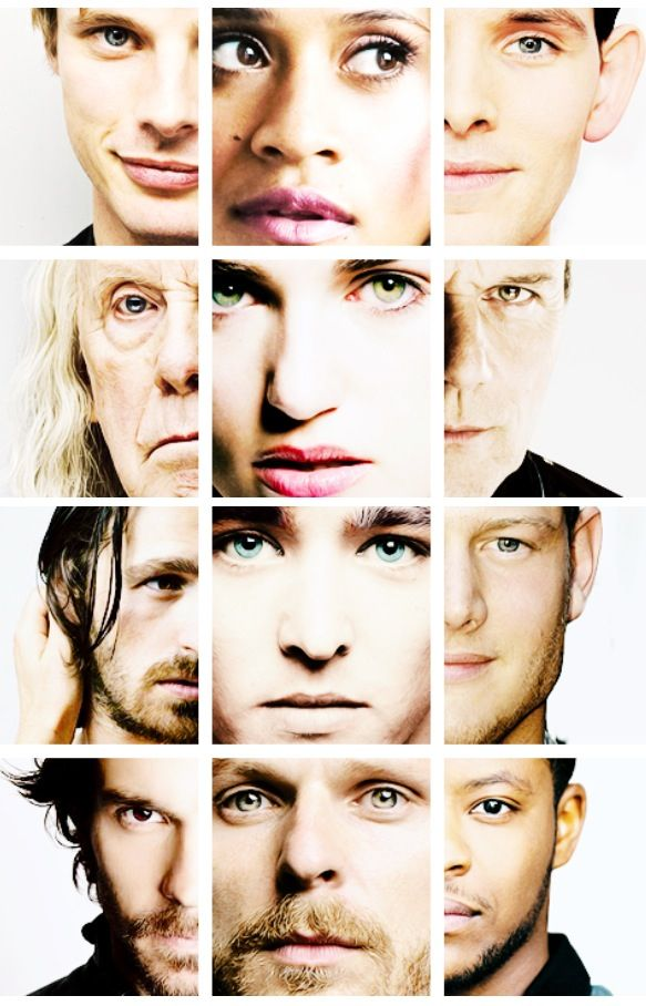 Arthur, Gwen, Merlin, Gaius, Morgana, Uther, Gwain, Mordred, Percival, Lancelot, Leon, Alyon.