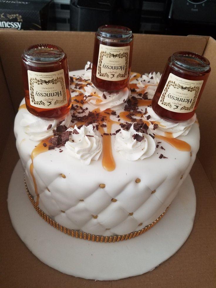 Xo Cognac Birthday Cake