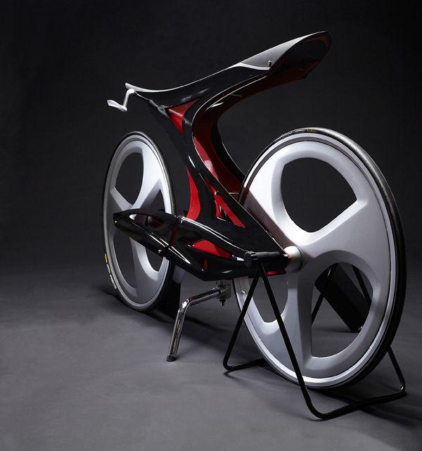 Zapfina - futuristic bicycle design
