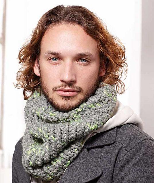 Knitting Pattern For Mens Infinity Scarf : 17 Best ideas about Mens Infinity Scarf on Pinterest Scarf crochet, Crochet...
