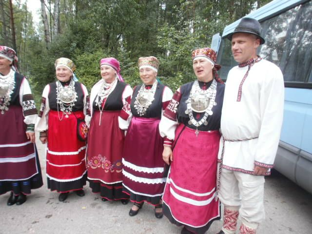 Choir ('leelo') from Setomaa, #Estonia, fot. K.Sielicka, 2013