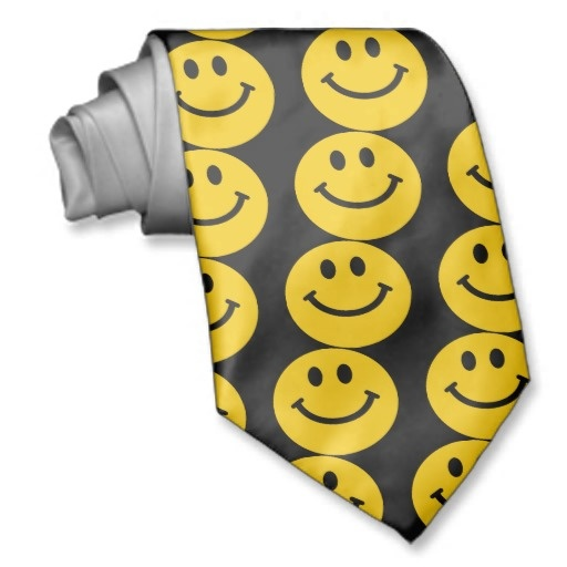 Yellow Smiley Face Ties