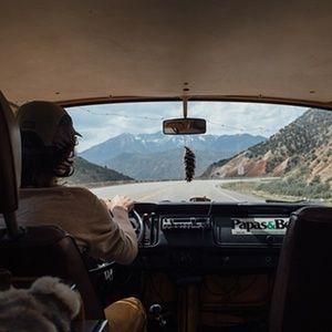 James Barkman's US road trip by campervan