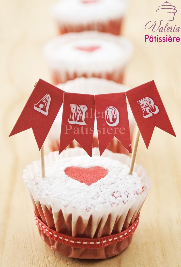 Cupcakes para enamorados...