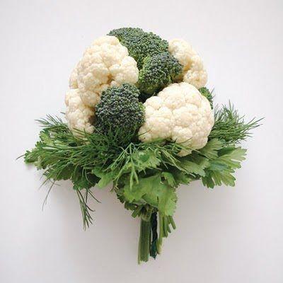 broccoli, cauliflower, parsley, fennel
