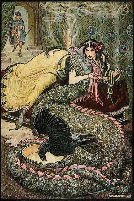 Frank Cheyne Papé ~ The Russian Story Book by Richard Wilson ~ 1916