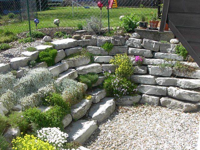 Trockenmauern Gartenbau Reiser Bruchsteinmauern, Trockenmauern