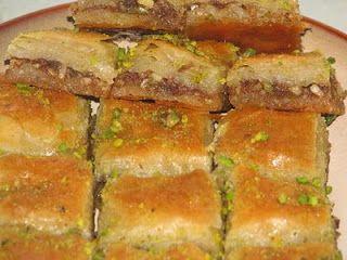 Arabic Dessert: Bakhlava