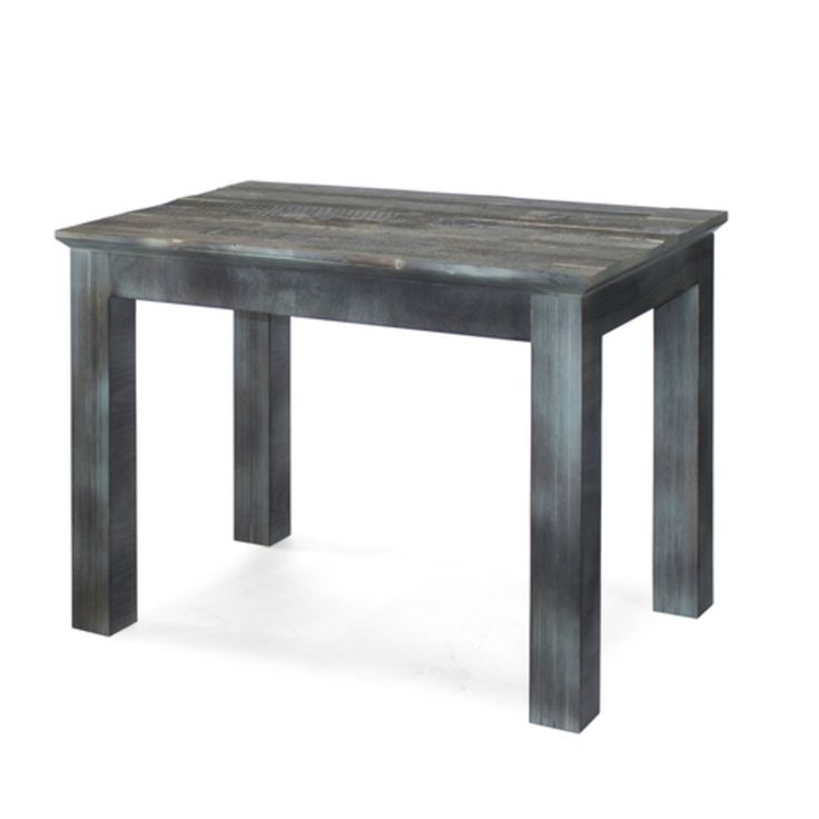 Деревянный обеденный винтажный черный стол (Oldwood Long Elephant Archpole)…