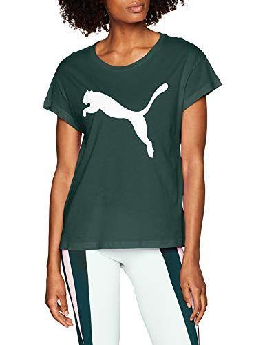 Puma Damen Active Logo Tee T-Shirt - EUR 11.90 - EUR 31.49 - 3.9 von ...