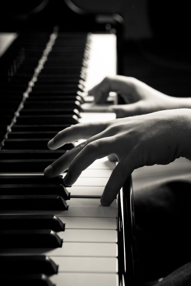 Almost nothing can compare to the stress relief of sitting down and playing piano for an hour or two!