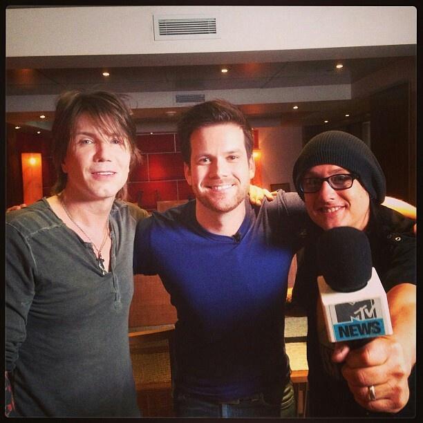 John & Robby @ MTV Canada