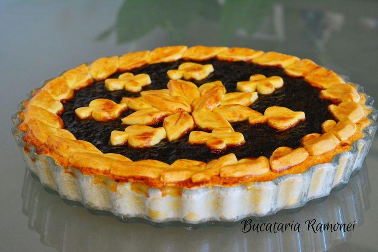 Haideti sa pregatim impreuna o tarta foarte simpla si buna! Gasiti reteta dand click pe acest link: http://bucatariaramonei.com/recipe-items/tarta-cu-aluat-fraged-fara-unt/