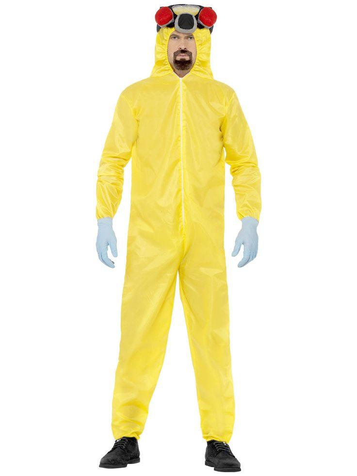 Breaking Bad Heisenberg Kostüm Lizenzware gelb. Aus der Kategorie Film & Promikostüme. Verwandeln Sie sich in den wohl berühmtesten Meth-Hersteller der Filmwelt - Walter White aka Heisenberg. Schlüpfen Sie in den berühmten gelben Schutz-Overall mit applizierter Gasmaske und kochen damit Ihr ganz eigenes Süppchen. Grandioser Fanartikel von überragender Qualität!