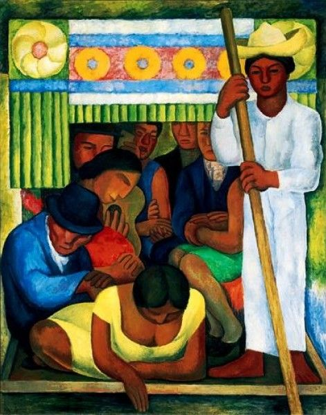 Diego rivera famous paintings diego rivera s first for Diego rivera s most famous mural